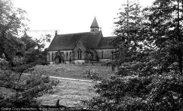 Alderwasley, All Saints Church c.1955