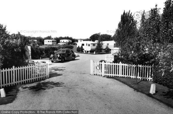 Aldwick, Pinehurst Holiday Caravan Park c.1955