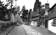 Alfold, St Nicholas Church And Stocks c.1955
