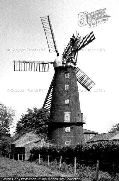 Alford, Five Sail Mill c.1960
