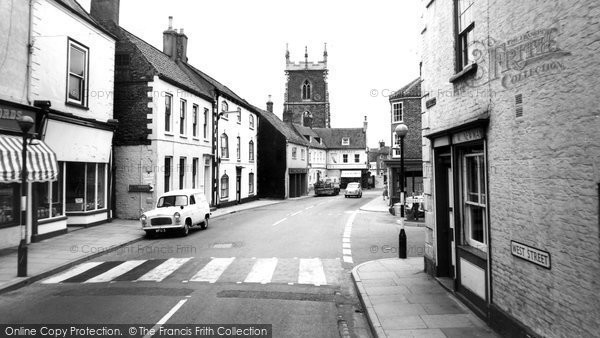 Alford, High Street c.1960