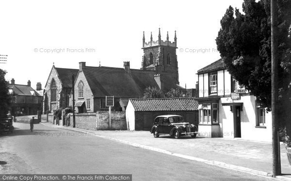 Alford, St Wilfrid Church c.1950
