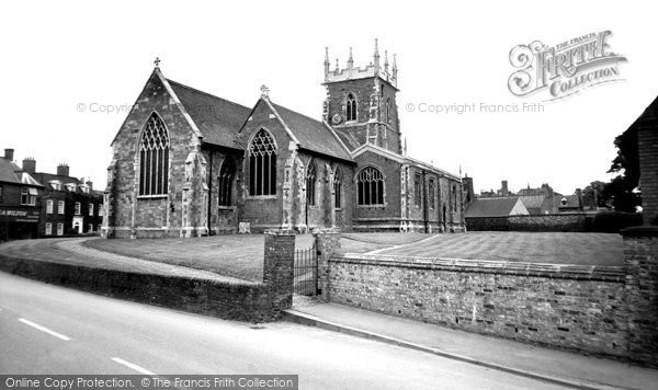 Alford, St Wilfrid Church c.1960