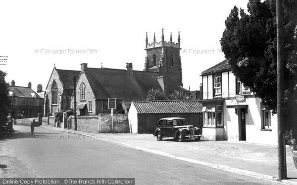 Alford, St Wilfrid's Church c.1950