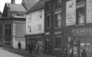 Alfreton, Shopfronts c.1965