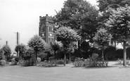 Alfreton, Watchorn Memorial Park And Church c.1955