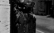 Alfriston, Figure Head Outside Star Inn c.1955