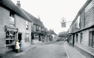 Alfriston, High Street And The Star And George Inns 1921