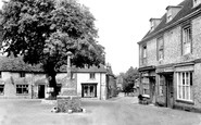Alfriston, Market Square c.1955