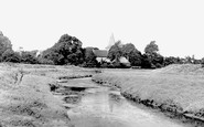 Alfriston, St Andrew's Church From The River Cuckmere 1960