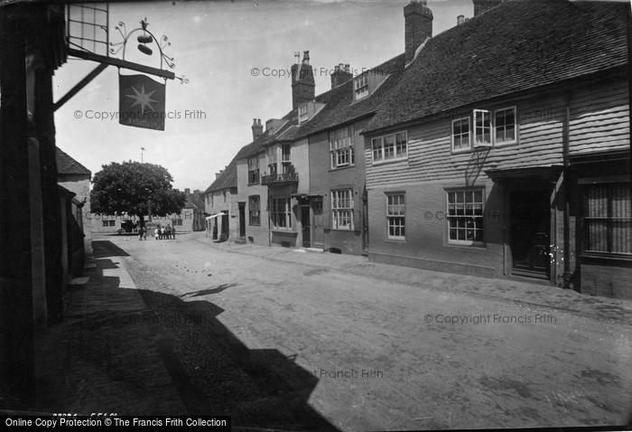 Alfriston, Street 1891