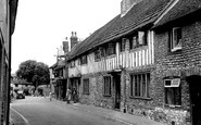 Alfriston, The George Inn c.1955
