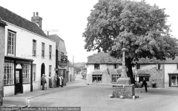 Alfriston, The Market Square c.1955
