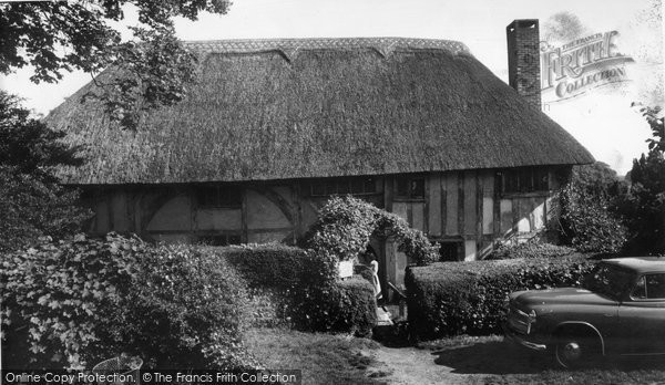 Alfriston, The Priest's House c.1960