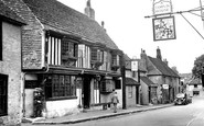 Alfriston, The Star Inn c.1958
