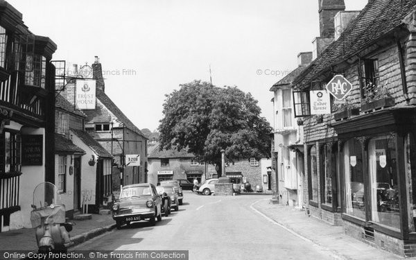 Alfriston, The Tudor House 1961