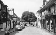 Alfriston, The Tudor House 1961
