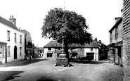 Alfriston, The Village Square c.1955