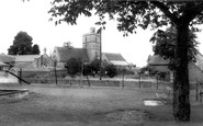 All Cannings, All Saints' Church c.1960