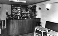 Allendale, Hotspur Hotel The Bar c.1955