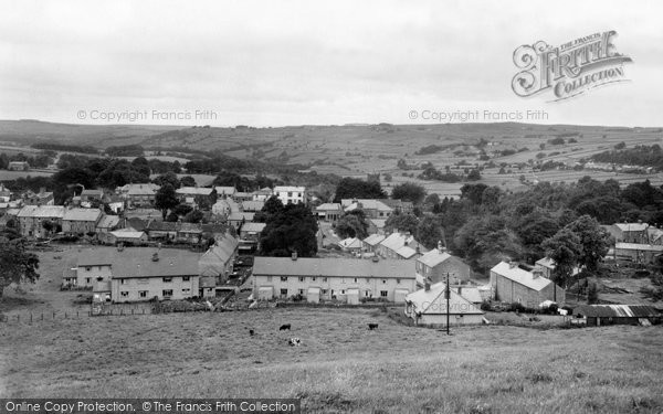Allendale, View Of The Town From Lonkley c.1952