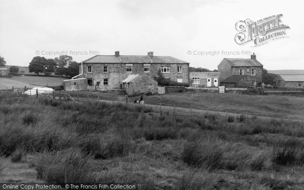 Allenheads, Slag Hill Cottages c.1965