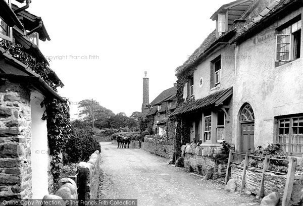 Allerford, The Village 1923