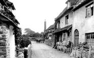 Allerford, The Village 1923
