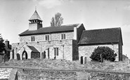Allhallows, All Saints Church c.1950