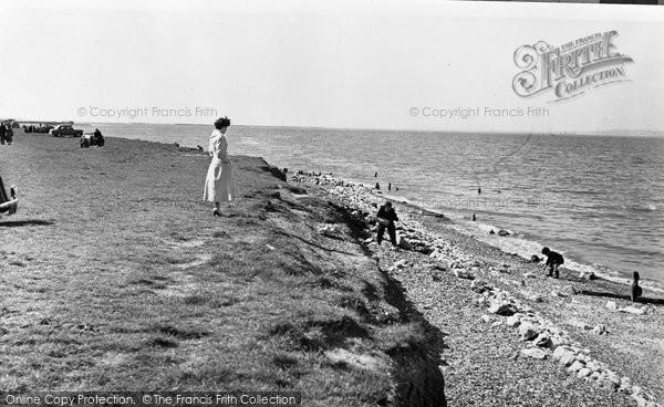 Allhallows, The Beach c.1955