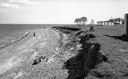 Allhallows, the Beach c1955