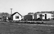Allhallows, The Camping Site Office c.1955