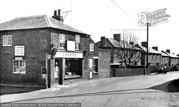 Allhallows, The Post Office c.1955