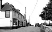 Allhallows, The Rose And Crown c.1950