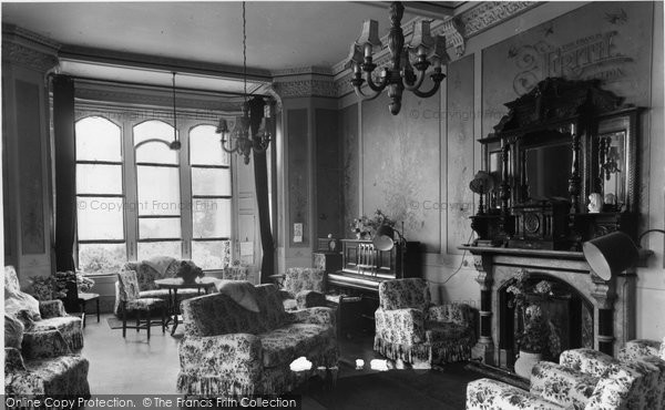 Allithwaite, Boarbank Hall, The Lounge c.1960