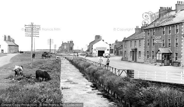 Allonby, The Beck c.1955