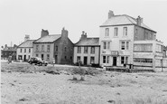 Allonby, The Solway Hotel And Post Office c.1955