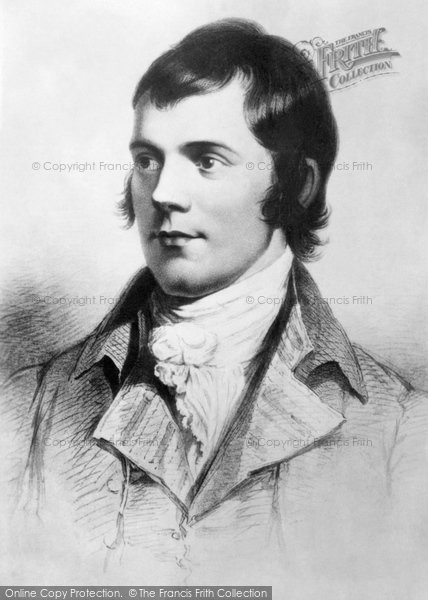 Alloway, Portrait Of Robert Burns (1759 1796)
