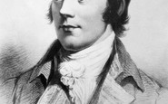 Alloway, Portrait Of Robert Burns (1759-1796)