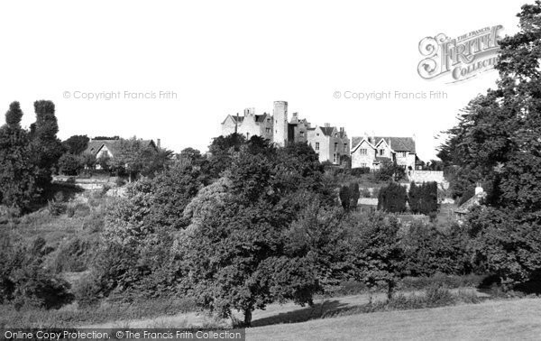 Almondsbury, Knole Park From Fields c.1955