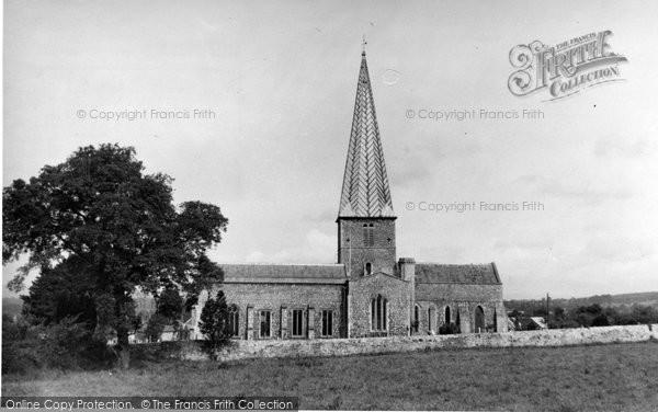 Almondsbury, St Mary's Church c.1955