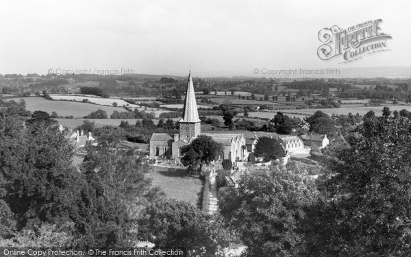 Almondsbury, View From The Hill c.1955