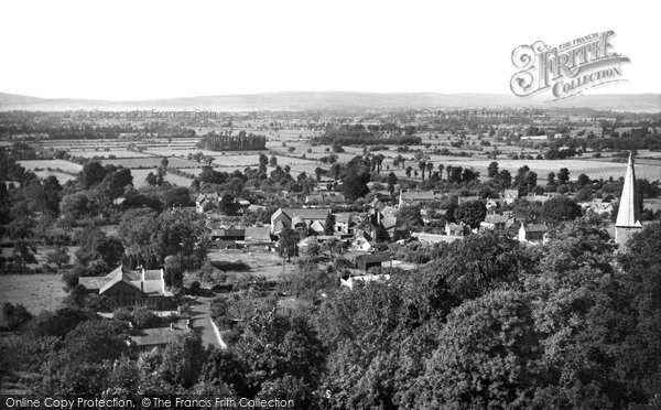 Almondsbury, View From The Tea Rooms c.1955