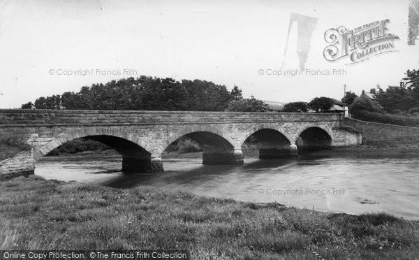 Alnmouth, Duchess Bridge c.1960