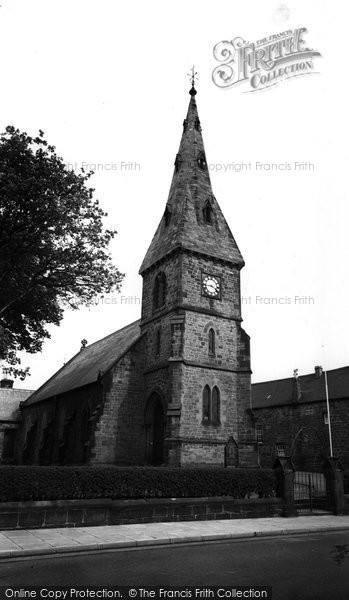 Alnmouth, St John The Baptist Parish Church c.1960