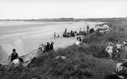 Alnmouth, The Beach c.1955