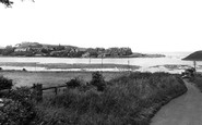 Alnmouth, the River Aln c1955