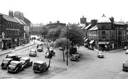 Alnwick, Bondgate And Market Place c.1955