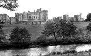 Alnwick, The Castle c.1955
