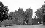 Alnwick, the Gatehouse c1955